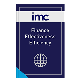 Finance Effectiveness Efficiency.